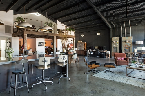 Fugitives Editorial Hideout in Frogtown, Los Angeles, California - Designed by Chris Gernon