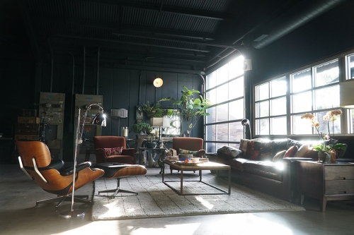 The space. Fugitives Editorial Hideout in Frogtown, Los Angeles, California - Designed by Chris Gernon